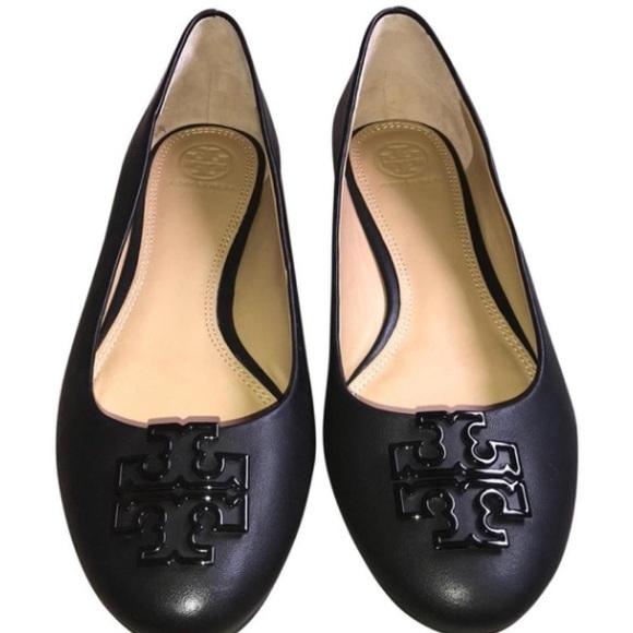 Tory Burch scarpe  Sz  Nero Melinda Flats Never Worn Sz  10   Poshmark fbc355